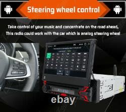 7Inch Single 1DIN Auto DAB+ Radio Flip-Out Car Stereo DVD Player Android 10 32GB