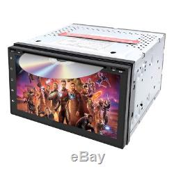 7 2DIN Android 8.1 Quad Core Car Stereo DVD Player GPS Navi OBD2 Radio 1080P US