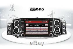 7 2DIN HD Touch Screen Car GPS Navigation Stereo FM Radio DC DVD Player
