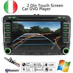 7 2Din Autoradio Car Stereo DVD Player GPS Navi For VW 6 PASSAT GOLF JETTA Polo