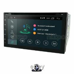 7 4-Core Android 10 IPS Double 2DIN Car Stereo DAB+ Satnav OBD2 WiFi DVD Player