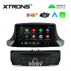 7 Android 10.0 Car Stereo DVD Player GPS DAB Radio Head Unit for Renault Megane