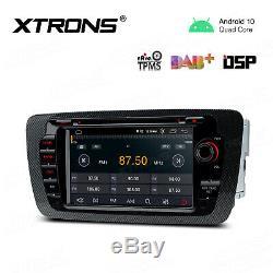 7 Android 10.0 Car Stereo DVD Player GPS Sat Nav Radio DSP For Seat Ibiza MK4