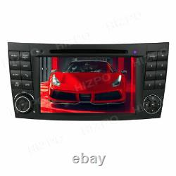 7 Android 10 Car Stereo Radio DVD GPS Player For Mercedes Benz E W211 CLS W219