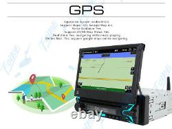 7 Android 10 Single 1Din Car Stereo Radio GPS Wifi OBD2 Mirror Link DVD Player