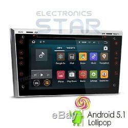 7 Android 5.1 Car DVD Player GPS DAB+ Opel Vauxhall Astra H Corsa Vectra Silver