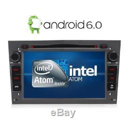 7 Android 6.0 Car DVD Player GPS DAB+ Opel Vauxhall Astra H Corsa Vectra Silver