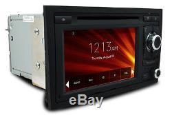7 Audi A4 S4 Navigation Multimedia GPS Car DVD Player sat nav Stereo WINCE 6.0