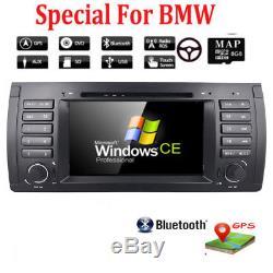 7 BMW E39 X5 E53 M5 E38 5 Series Car Radio DVD CD Player Stereo GPS Navigation