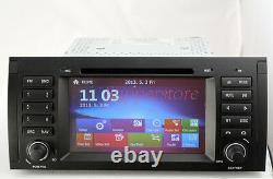 7 BMW X5 E39 Win CE Car DVD GPS Stereo Player Head Unit SERIES E53 E38 E39 39B