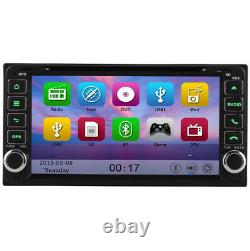 7 Car Bluetooth GPS SatNav Bluetooth DVD Player Stereo For Toyota Avensis Verso