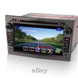 7 Car Bluetooth GPS SatNav Radio CD DVD Player Stereo For Vauxhall Zafira B Mk2