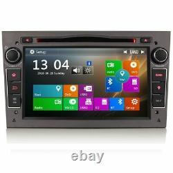 7 Car Bluetooth GPS SatNav Radio DVD Player USB Stereo For Vauxhall Astra H Mk5