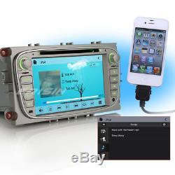 7 Car CD player bluetooth gps DVR 3G Ford Focus Mondeo C/S-max Galaxy 7608MGB