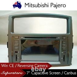 7 Car DVD GPS Player Navigation Head Unit For Mitsubishi Pajero 2006-2015