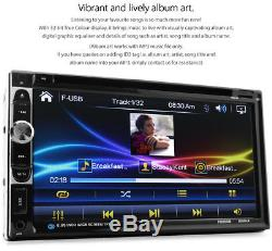 7 Car DVD MP3 Player Ford Mondeo Mk3 2003-2007 Head Unit USB Stereo Radio CD ET