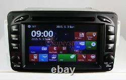 7 Car DVD Player GPS Benz C-CLASS CLK 2000-2004 W209 W203 GPS Radio Head unit