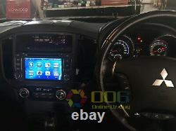 7 Car DVD Player GPS Navigation Stereo Radio For Mitsubishi Pajero 2006-2015
