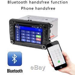 7 Car DVD Player GPS Sat Nav Stereo For VW Passat Golf Transporter T5 + Camera