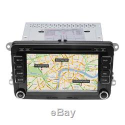 7 Car DVD Player Radio GPS SatNav Stereo VW Passat Golf Transporter T5 +Camera