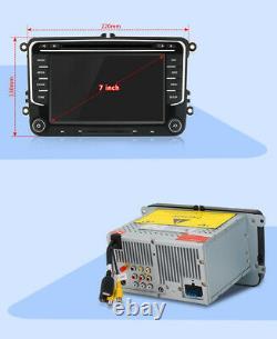 7 Car DVD Player Radio GPS Sat Nav Stereo BT For Golf MK5 MK6 Jetta Tiguan Polo