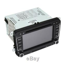 7 Car DVD Player Radio GPS Sat Nav Stereo Camera For VW Passat Golf Skoda Seat