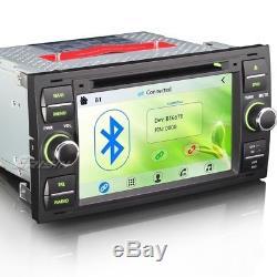 7 Car DVD Player Sat Nav Radio for FORD FOCUS C-MAX KUGA FIESTA TRANSIT 7301CU
