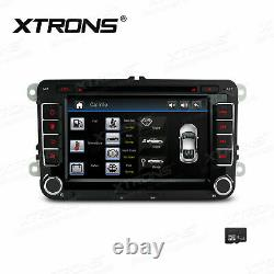 7 Car DVD Player Stereo GPS HD Radio Touch Screen CANbus for VW Seat Skoda