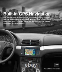 7 Car DVD Player Stereo GPS Sat Nav Radio Bluetooth for BMW 5 Series E39 M5 E53
