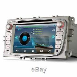 7 Car GPS Sat-Nav Head Unit Bluetooth DVD Player USB Stereo For Ford Mondeo Mk4