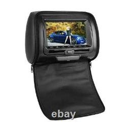7 Car HD Digital Monitor Video Headrest DVD Player Game VCD USB MP3 FM/IR UK