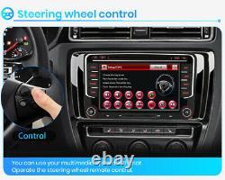 7 Car Radio CD Player GPS Navi HD DVD BT For VW Golf 5 6 Passat EOS Skoda Seat