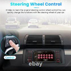 7 Car Radio DVD CD Player Stereo GPS Sat Nav Bluetooth DAB USB For BMW E39 E38