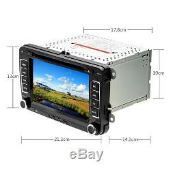 7 Car Radio DVD Player GPS Sat Nav For VW Passat Golf Transporter T5 + Camera