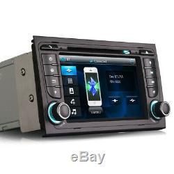 7 Car Radio Stereo DVD Player GPS SatNav Bluetooth USB For Audi A4 S4 RS4 B6 B7