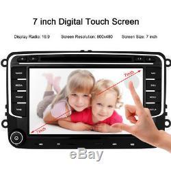 7 Car Stereo Radio BT HD DVD Player GPS Sat Nav VW PASSAT/SKODA Fabia/SEAT UK