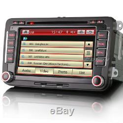7 Car Stereo Radio GPS for PASSAT CC SKODA GOLF MK 5 6 T5 SEAT CADDY OBD 7900CU
