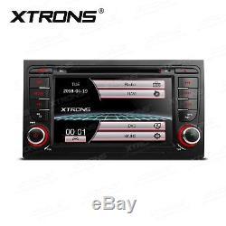 7 Dash Car Radio Stereo GPS Navi DVD Player For AUDI A4 S4 RS4 B6 B7 SEAT Exeo