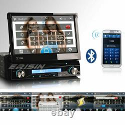 7 Detachable panel 1 Din DAB+Stereo Car DVD Player GPS Sat Nav Bluetooth RDS