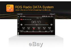 7 Double 2Din Car Radio Stereo DVD Player GPS Nav OBD BT 3G/4G WiFi Android 7.1