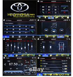 7 Double 2 DIN In Dash Car CD DVD Player Head Unit Radio Stereo AUX-In MP3 USB