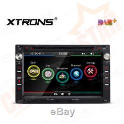 7 GPS Sat Nav Car DVD Player Stereo DAB+ Radio for VW GOLF MK4 TRANSPORTER BORA