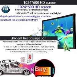 7 HD 2 Din Android Dual Core Car Stereo GPS MP5 Player Radio 3G Wifi + Camera