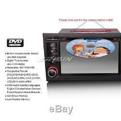 7 Sat Nav Car Radio DVD GPS Player AUDI A4 S4 RS4 B7 B9 RDS 3G DVR DTV 7378-GB