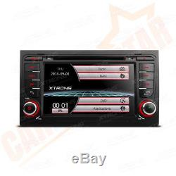 7 Touch Screen Car Head Unit DVD Player Stereo GPS Sat Nav Radio for Audi A4 S4