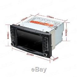 7 Touch Screen Car Stereo DVD Player GPS Sat Nav Bluetooth Radio for VW Touareg