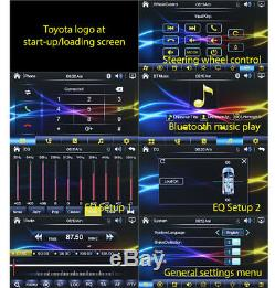 7 Toyota Urbancruiser Prado Hiace Celica Car DVD Player Stereo Head Unit MP3 GT