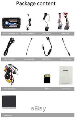 7 Universal VW Golf MK5 Car Stereo DVD Player SAT NAV GPS Navigation Bluetooth