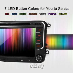 7 VW Caddy EOS Golf Plus Golf MK5 Jetta Car DVD Player Stereo GPS Sat Nav Radio