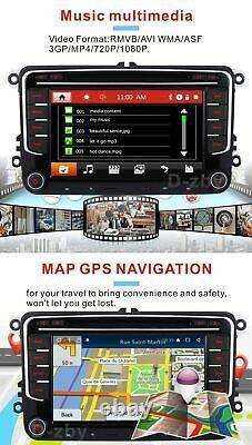 7 VW Passat Golf Transporter T5 Car Stereo DVD DAB Radio Bluetooth GPS Sat Nav